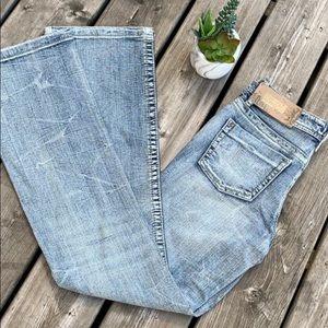 Foxy flare leg jeans